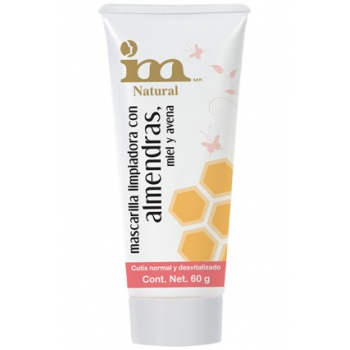 CLEANSING MASK ALMOND, HONEY & OATS 60G