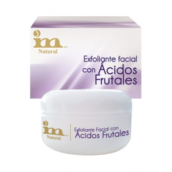 FACIAL SCRUB W/FRUIT ACIDS 50G