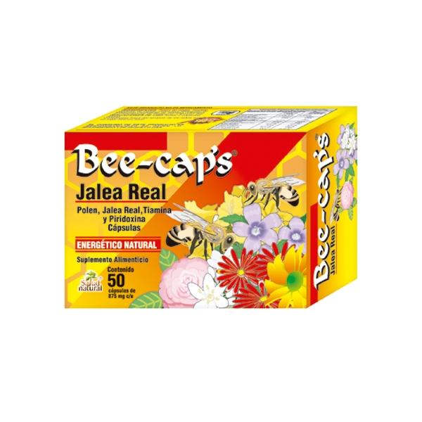 BEE-CAPS Jalea Real 875mg 50 CAPSULAS - Naturales Del Niño